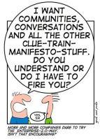 Humor on cluetrain manifesto