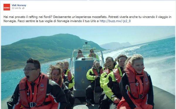 Norvegia da urlo facebook
